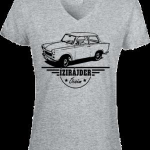 Ízirájder öcsém Trabant – Női V nyakú póló