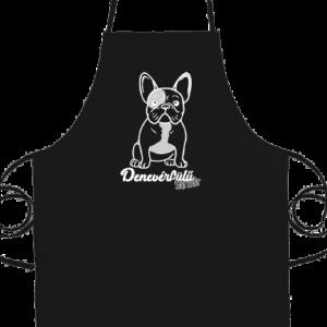 Denevérfülű sármőr francia bulldog – Basic kötény