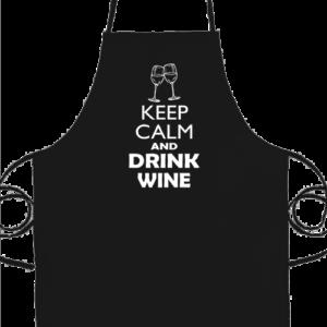 Keep calm bor – Prémium kötény