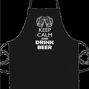 Keep calm beer sör – Prémium kötény