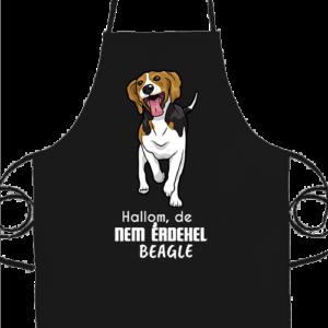 Hallom de nem érdekel beagle – Basic kötény