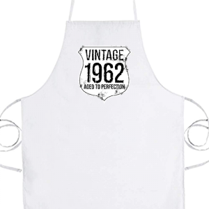 Vintage 1962 szülinapos- Basic kötény
