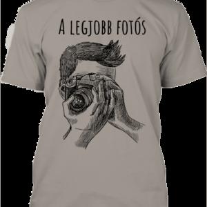 A legjobb fotós 1- Férfi póló