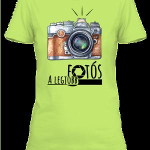A legjobb fotós 2- Női póló