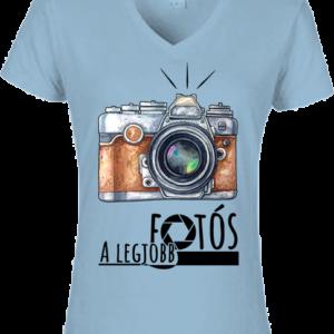 A legjobb fotós 2 – Női V nyakú póló