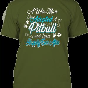 Adopted pitbull – Férfi póló