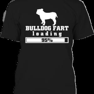 Bulldog fart – Férfi póló