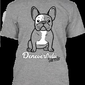 Denevérfülű sármőr francia bulldog- Férfi póló
