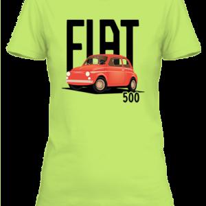 Fiat 500 – Női póló