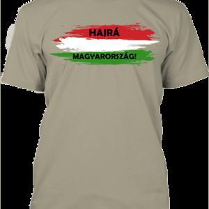 Hajrá Magyarország – Férfi póló