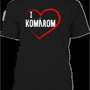I love Komárom – Férfi póló