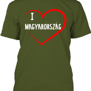 I love Magyarország – Férfi póló