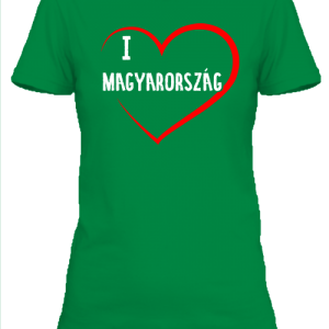 I love Magyarország – Női póló