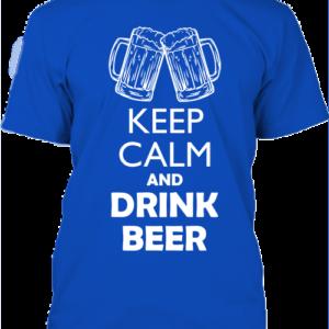 Keep calm sör- Férfi póló