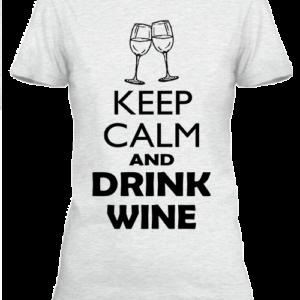 Keep calm bor – Női póló
