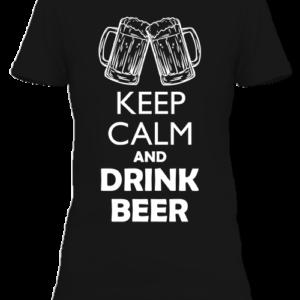 Keep calm sör – Női póló