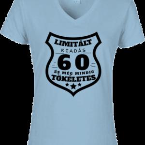 Limitált kiadás 60 – Női V nyakú póló