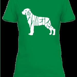 Rottweiler – Női póló