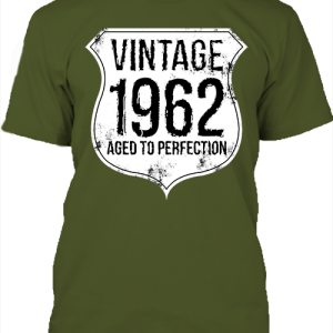 Vintage 1962 szülinapos – Férfi póló