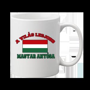 A világ legjobb magyar anyósa – bögre