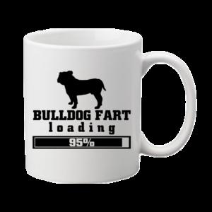 Bulldog fart – bögre
