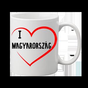 I love Magyarország – bögre