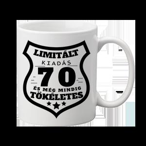 Limitált kiadás 70 – bögre