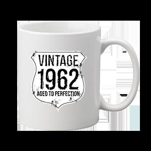 Vintage 1962 szülinapos – bögre
