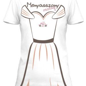 Lánybúcsú2- Női póló