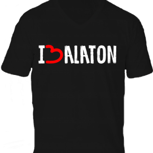 I love Balaton -Férfi V nyakú póló