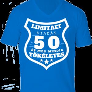 Limitált kiadás 50 -Férfi V nyakú póló