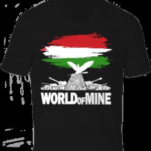 World of mine -Férfi V nyakú póló