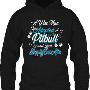 Adopted pitbull – Unisex kapucnis pulóver