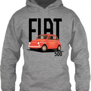 Fiat 500 – Unisex kapucnis pulóver