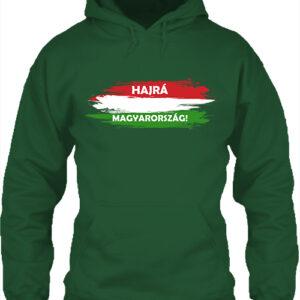 Hajrá Magyarország- Unisex kapucnis pulóver