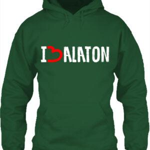 I love Balaton- Unisex kapucnis pulóver