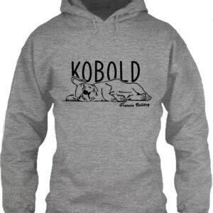 Kobold francia bulldog – Unisex kapucnis pulóver