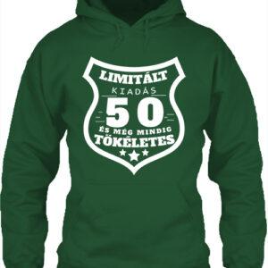 Limitált kiadás 50 – Unisex kapucnis pulóver