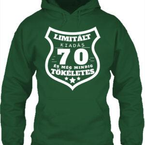 Limitált kiadás 70 – Unisex kapucnis pulóver