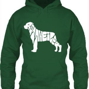 Rottweiler – Unisex kapucnis pulóver