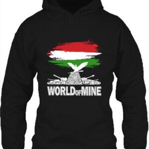 World of mine- Unisex kapucnis pulóver