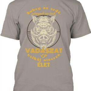Suhog az erdő vaddisznó vadászat – Férfi póló