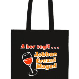 A bor segít jobban érezni magad – Basic hosszú fülű táska