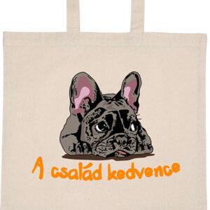 A család kedvence francia bulldog – Basic rövid fülű táska