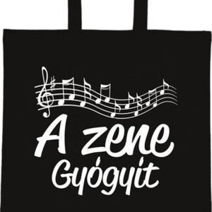 A zene gyógyít – Basic rövid fülű táska