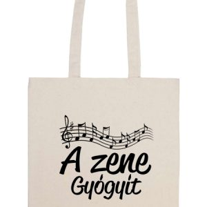 A zene gyógyít – Basic hosszú fülű táska