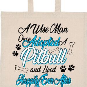Adopted pitbull – Basic rövid fülű táska