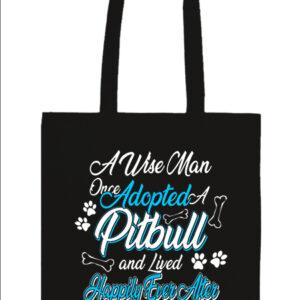 Adopted pitbull – Basic hosszú fülű táska