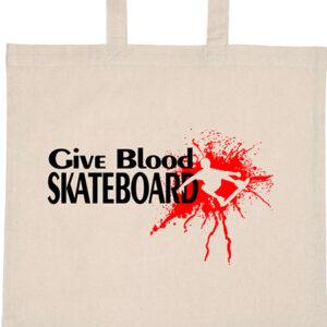Give blood skateboard gördeszka – Basic rövid fülű táska