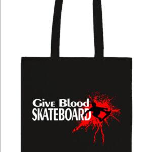 Give blood skateboard gördeszka – Basic hosszú fülű táska